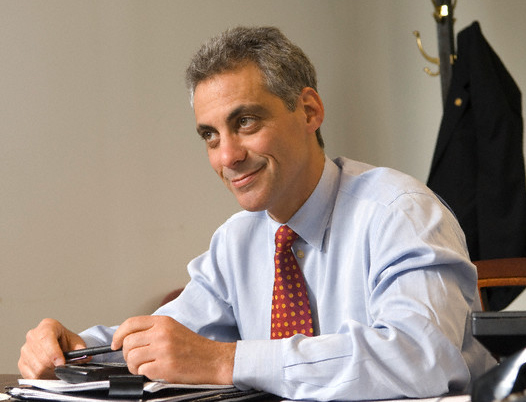 USA - Politics - Illinois Representative Rahm Emanuel