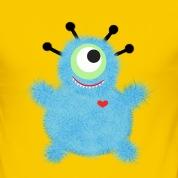 Monster-mit-Herz-T-Shirts