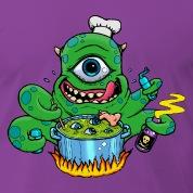 Monsterkoch-2-T-Shirts